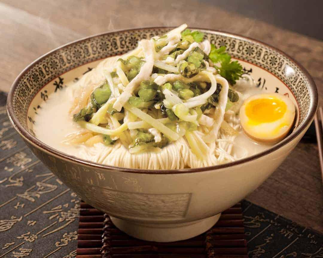 H5 Paradise Dynasty La Mian with Shredded Pork and Preserved Vegetable 雪菜肉丝猪骨汤拉面 Z